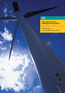 Image:  Front cover of Renewables Obligation consultation