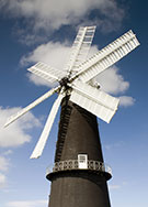 Image:  Sibsey trader windmill, nr Boston, Lincolnsire, built in 1877